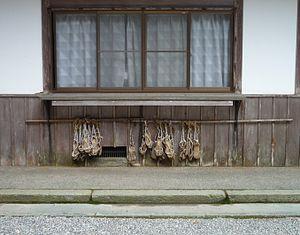 Waraji - Worn waraji on Hiei Mountain