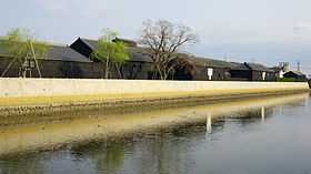 Warehouses of Mizkan along Handa canal.jpg