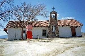 Warner Springs, California - St Francis Mission Chapel, Warner Springs