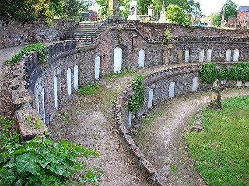 Warstone Lane Cemetery Catacombs