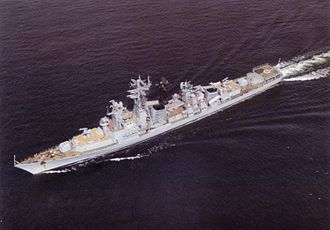 Polish Navy - ORP Warszawa was a Kashin-class guided missile destroyer