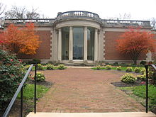 Washington County Museum of Fine Arts in Hagerstown City Park.JPG