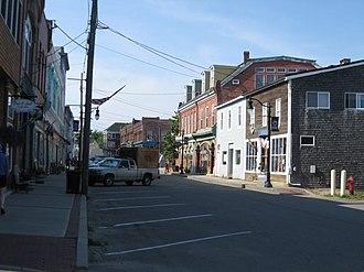 Eastport, Maine - Water Street in 2012