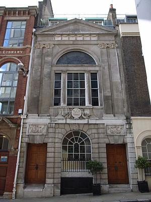 Company of Watermen and Lightermen - Watermen's Hall (1778-80), by William Blackburn.