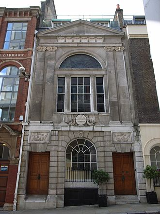 Lighterman - Watermen's Hall (1778-80), by William Blackburn.