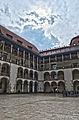 Wawel Castle Courtyard april 2014 HDR.jpg