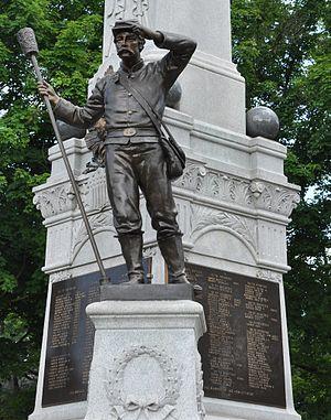 Civil War Memorial (Webster, Massachusetts)