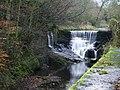 Weir on Pendle Water, Roughlee - geograph.org.uk - 622725.jpg