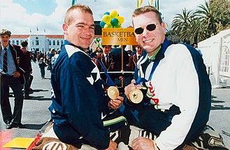1996 Summer Paralympics - Image: Welcome home parade Adelaide Atlanta Paralympics (21)