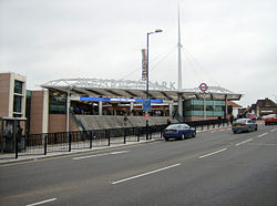Wembley Park tube station extension.jpg