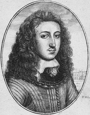 Long hair - A man with shoulder length hair, 1599