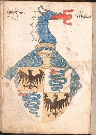 Biscione - Image: Wernigeroder Wappenbuch 060