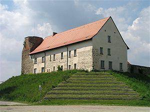 Wesenberg, Mecklenburg-Vorpommern - Image: Wesenberg Burg 1