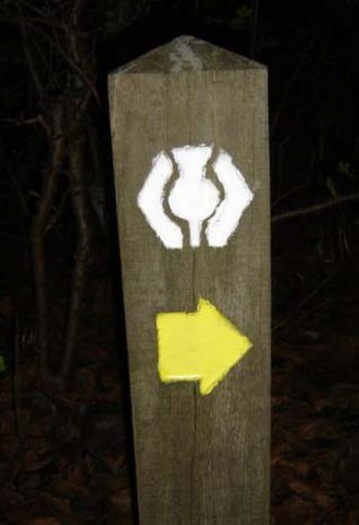 West Highland Way - WHW route marker