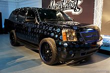07c2c308 Exterior of GMC Denali West Coast Customs prepared for HP for the 2012  summit.