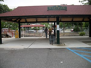 Westwood Station from Malverne side.jpg