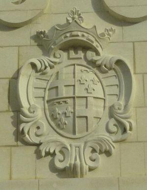 Alof de Wignacourt - Coat of arms of Wignacourt on the reconstructed Wignacourt Arch