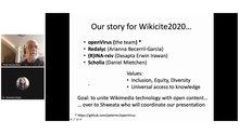 File:WikiCite 2020 OpenVirus and Scholia interfaces.webm