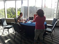 Wikimania 2015-Tuesday-Taking pictures.jpg