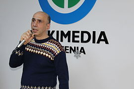 Wikipedia 15 BD in Wikimedia Armenia office 5.JPG