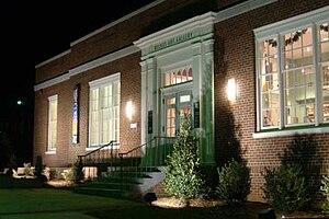 North Wilkesboro, North Carolina - Wilkes Art Gallery