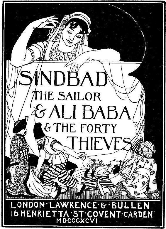 William-Strang-Sindbad-AliBaba-titlepage