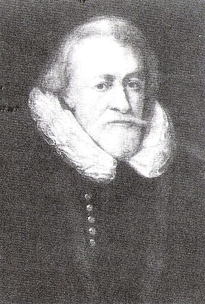 William Dethick - A portrait of William Dethick in 1598