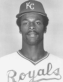 Willie Wilson (baseball) American baseball player