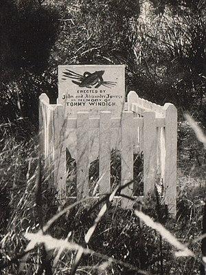 Tommy Windich - Windich's grave, Esperance, 1929.