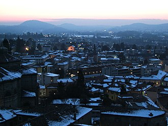 Mendrisio - Mendrisio during the winter