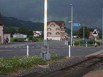 Schwende District - Houses in the Schwende district