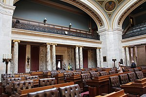 Wisconsin State Assembly - Image: Wisconsin State Assembly Chairs