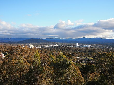 The Woden Valley viewed from Red Hill Woden Valley viewed from Red Hill June 2013.jpg
