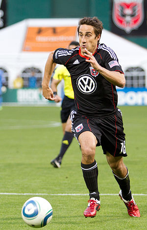 Josh Wolff - Wolff playing for D.C. United in 2011