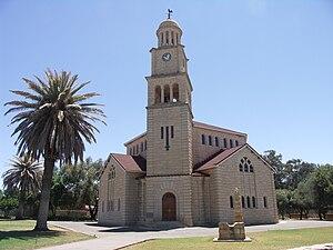 Dutch Reformed Church in South Africa (NGK) - Nederduitse Gereformeerde Kerk, Wolmaransstad.