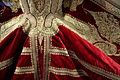 Woman's sleeveless jacket, Albania, view 3, mid 19th century, silk, gold, silver, embroidery - Royal Ontario Museum - DSC04442.JPG