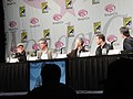 WonderCon 2011 - Terra Nova panel with director Alex Graves, executive producer Brannon Braga, and stars Stephen Lang and Jason O'Mara (5596530163).jpg