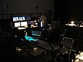 WonderCon 2011 Masquerade Backstage - Esplanade Ballroom audio-visual control center (5594080875).jpg