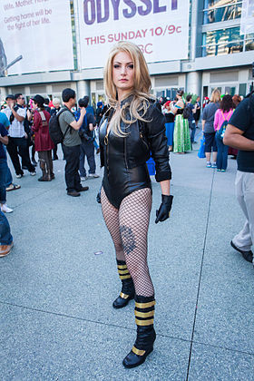 Cosplay de Black Canary.