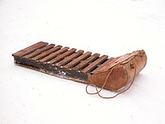 Image: Wooden sled.jpg (row: 3 column: 7 )