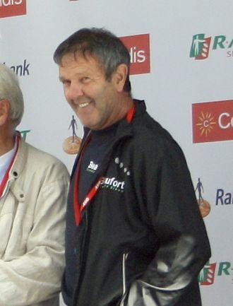 Roger De Vlaeminck - De Vlaeminck at the 2012 World Ports Classic