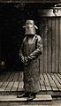 World War One, France; a radiographer wearing protective Wellcome V0030067.jpg