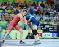 Wrestling at the 2016 Summer Olympics, Synyshyn vs Argüello 4.jpg