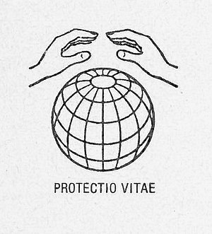 World Union for Protection of Life - Old Logo of the international organization