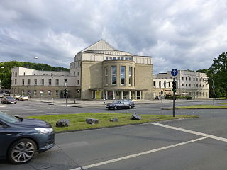 Opernhaus Wuppertal opera house and theatre in Barmen, Wuppertal, Germany