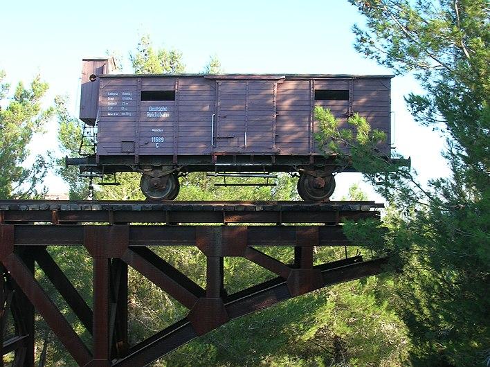 YadVashem Train Car.JPG