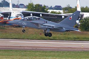 Yakovlev Yak-130 - Yak-130 at MAKS-2011