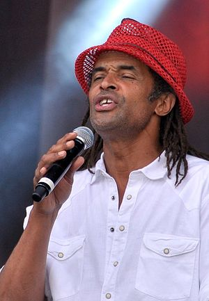 Yannick Noah - Noah performing at a concert in 2011