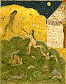 Yar Muhammad al-Haravi - Alexander the Great Watching the Sirens Bathing - Walters W609387B - miniature.jpg