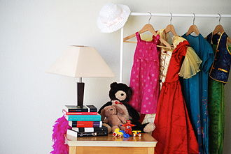 Jumble sale - The most commonly sold items include used clothes, books, and toys.
